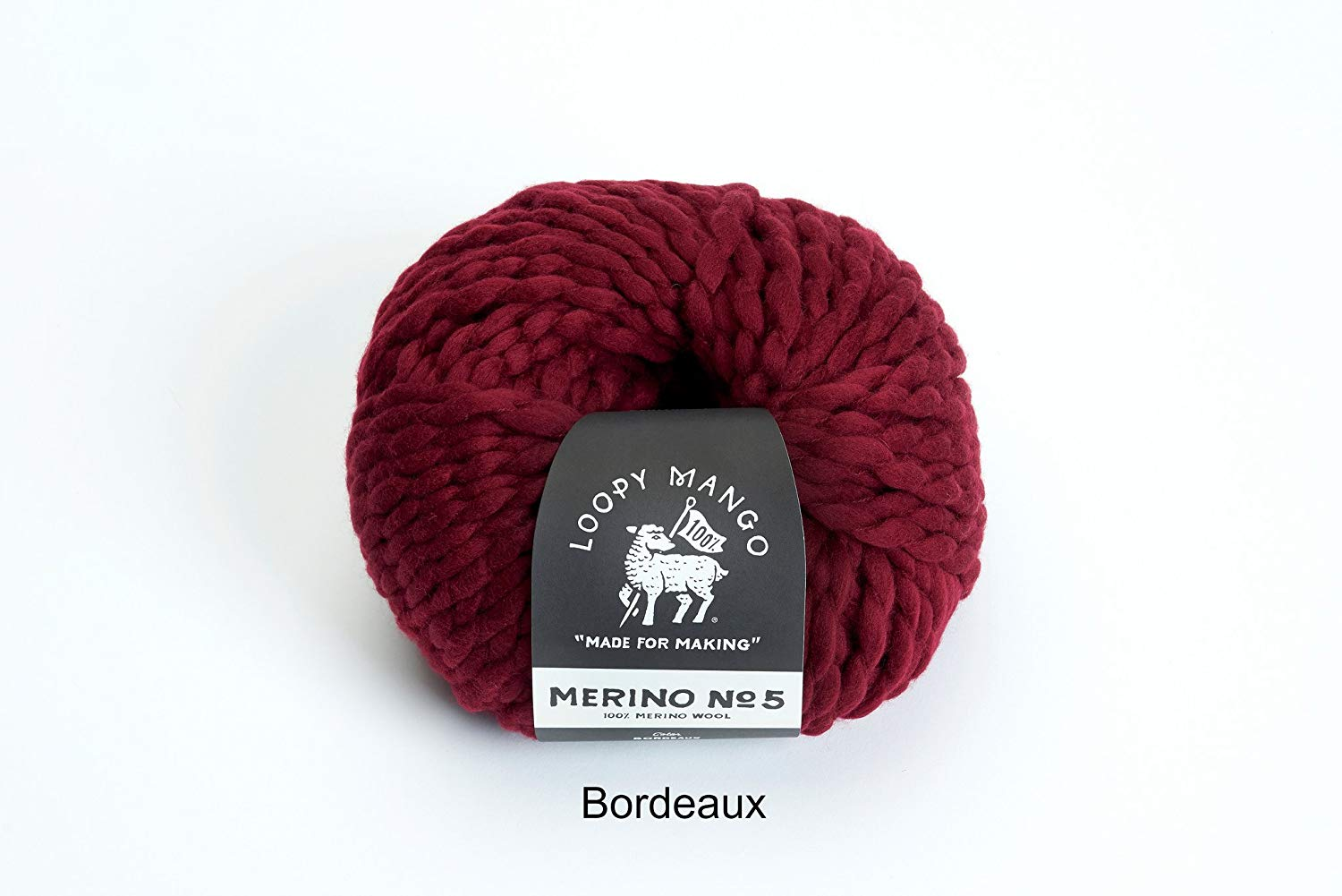 8c8d3a71348 Loopy Mango DIY Kit - Mini Pom Pom Beanie 5-8 years old (Bordeaux)